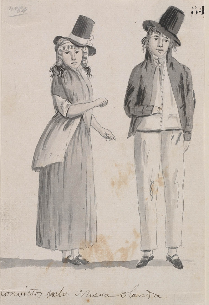 9-a-pair-of-convicts-in-australia-c-1800